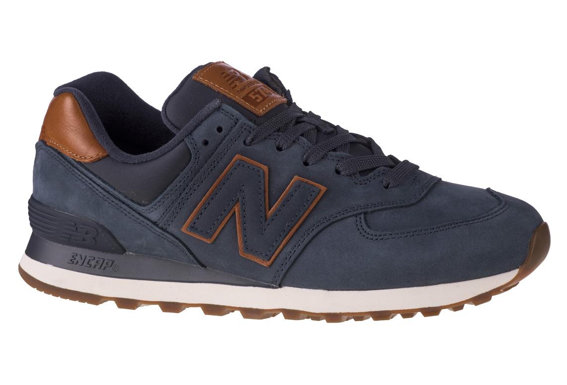minusválido fórmula ven  New Balance ML574NBD, Homme, Bleu marine, sneakers | Alltricks.com