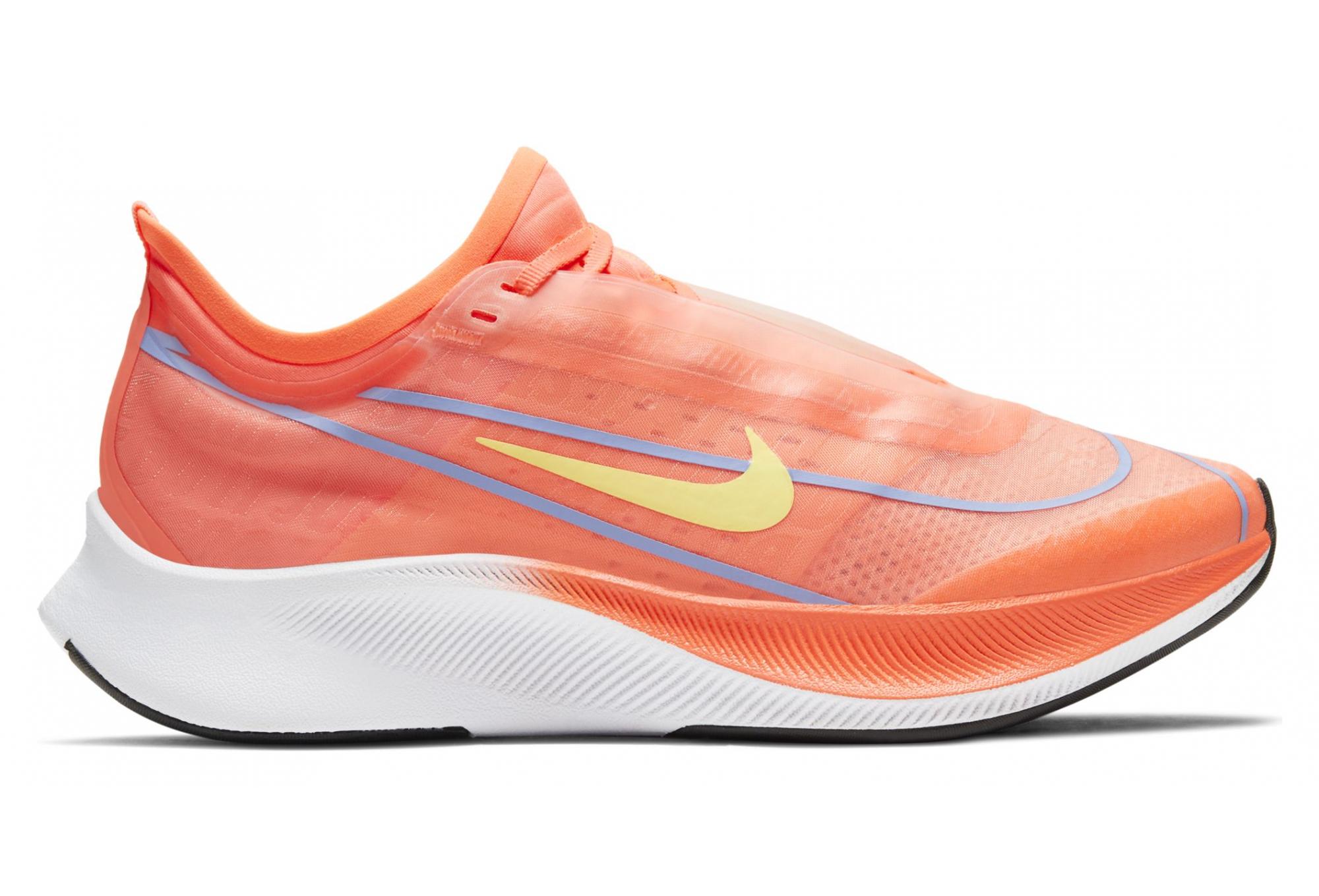 chaussure femme nike orange