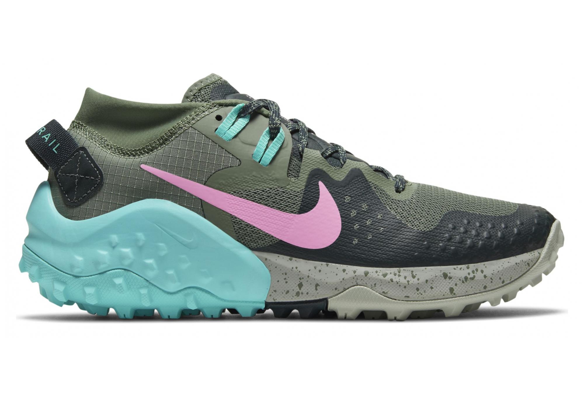 Nike Wildhorse 6 Trail Shoes Blue Pink Women   Alltricks.com