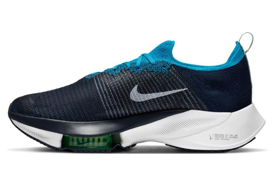 Chaussures de Running Nike Air Zoom Tempo Next% Bleu / Bleu ...