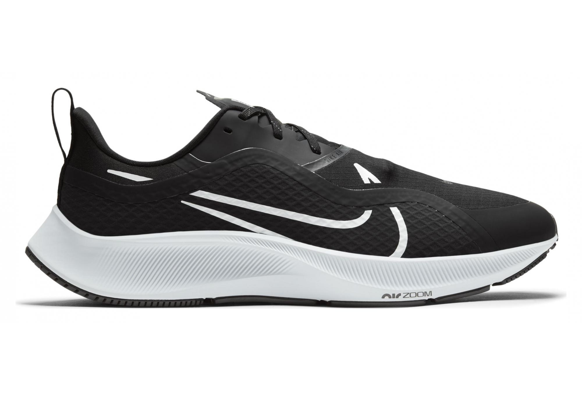 Scarpe da corsa Nike Air Zoom Pegasus 37 Shield Nero Bianco Uomo