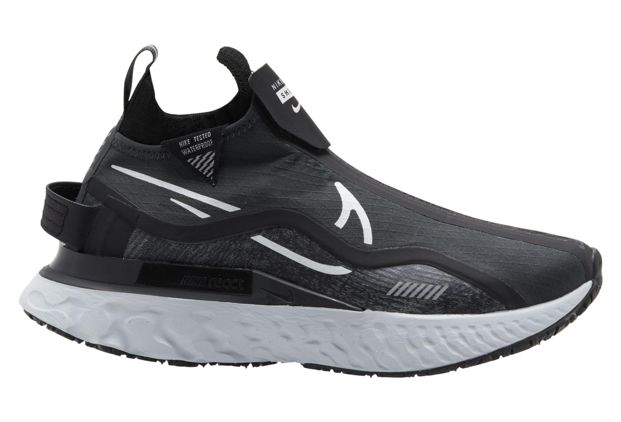 Novela de suspenso Multitud silencio  Nike React Infinity Run Flyknit Shield Negro Blanco Mujer Running Zapatos |  Alltricks.es