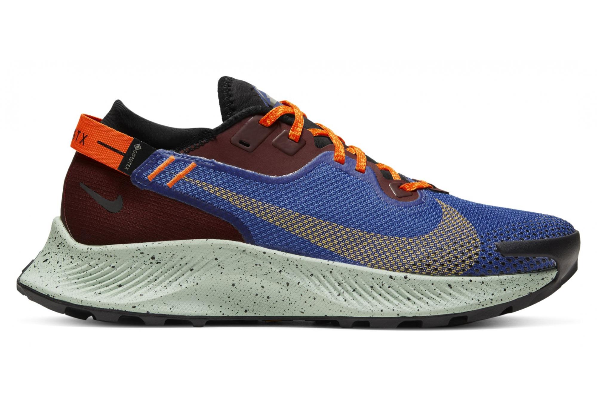 charla Sinfonía lanza  Nike Pegasus Trail 2 GTX Azul Rojo Naranja Zapatillas Trail Mujer |  Alltricks.es