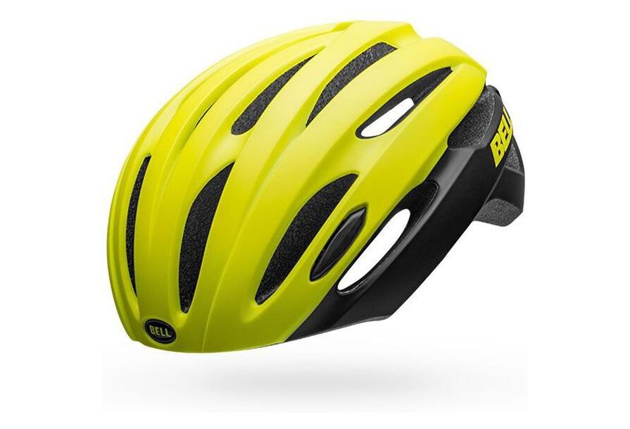Medium Size 53-60 Cm Yellow black Bell Avenue LED MIPS