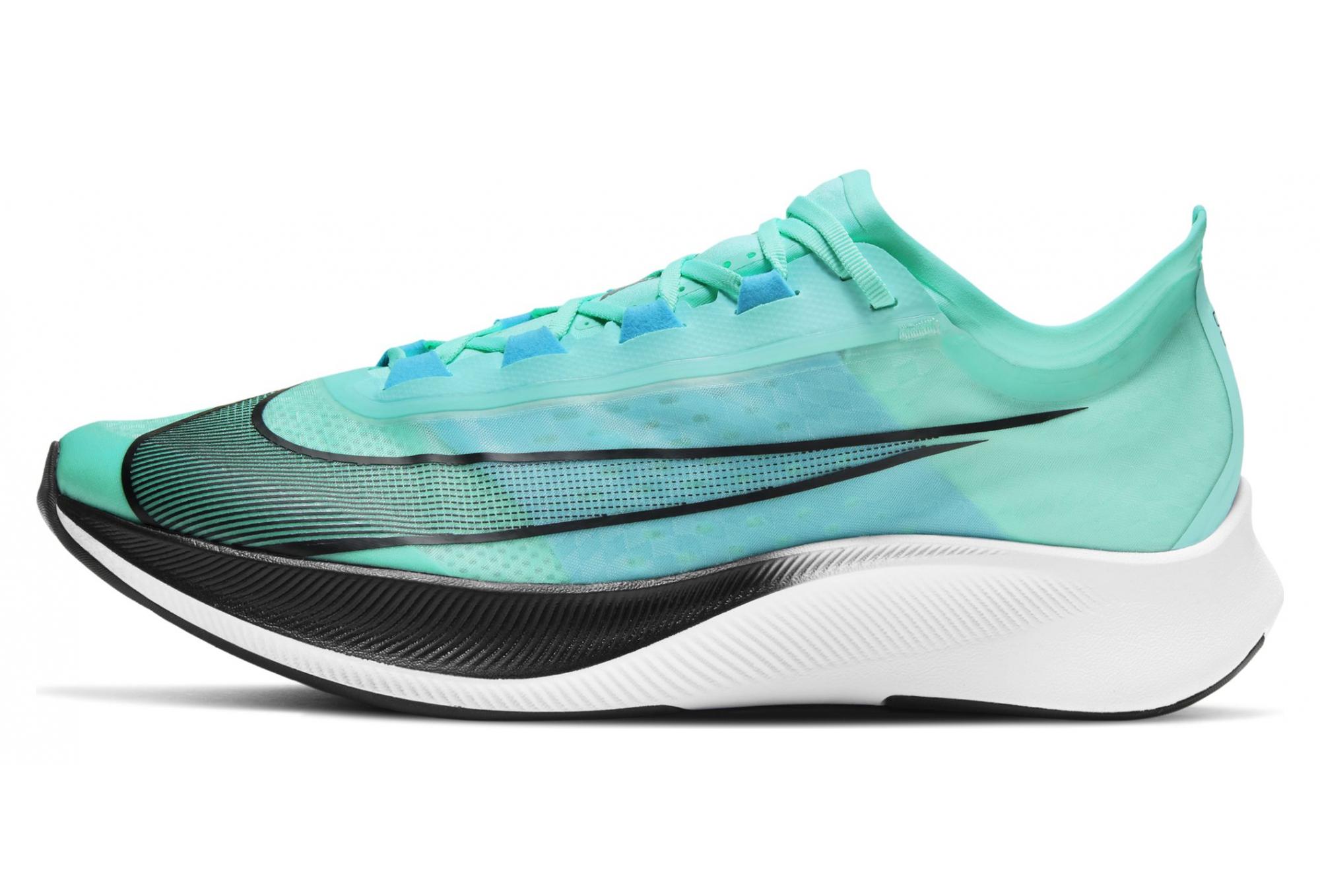 Nike Zoom Fly 3 Running Shoes Green Black Men