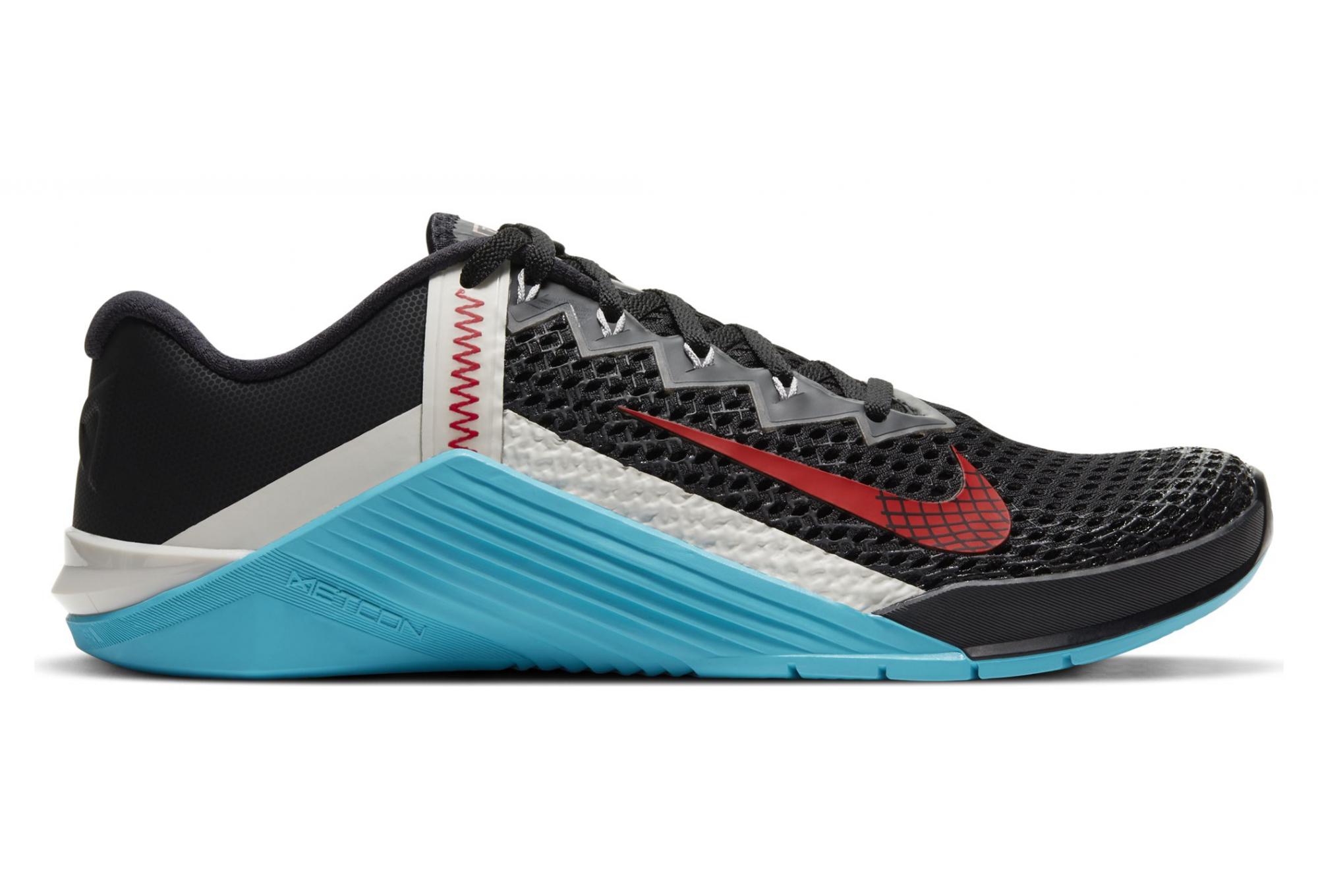 Nike Metcon 6 Running Shoes Black Red Blue Men