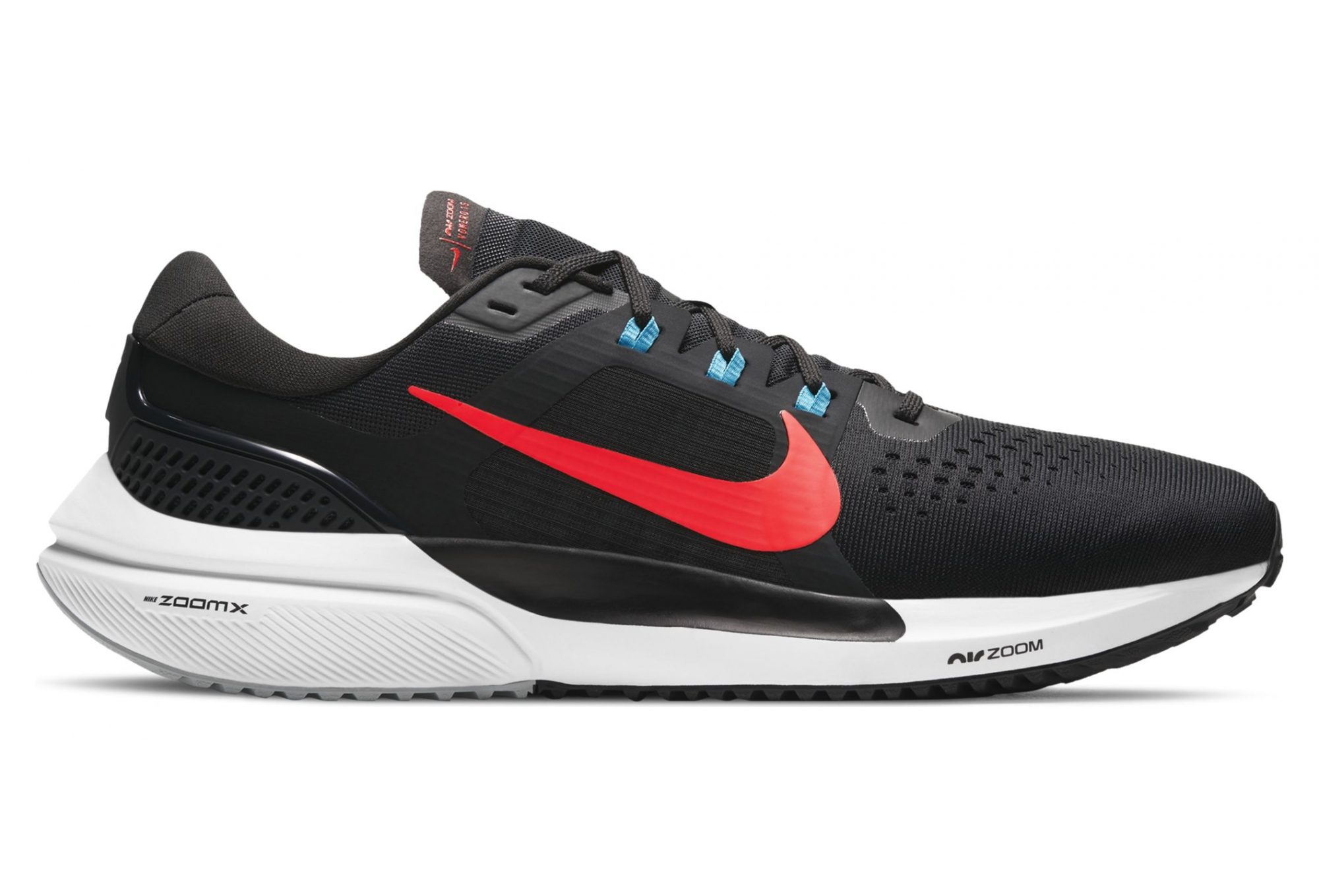girar Rama escritura  Nike Air Zoom Vomero 15 Negro Rojo Hombre Zapatillas Running | Alltricks.es