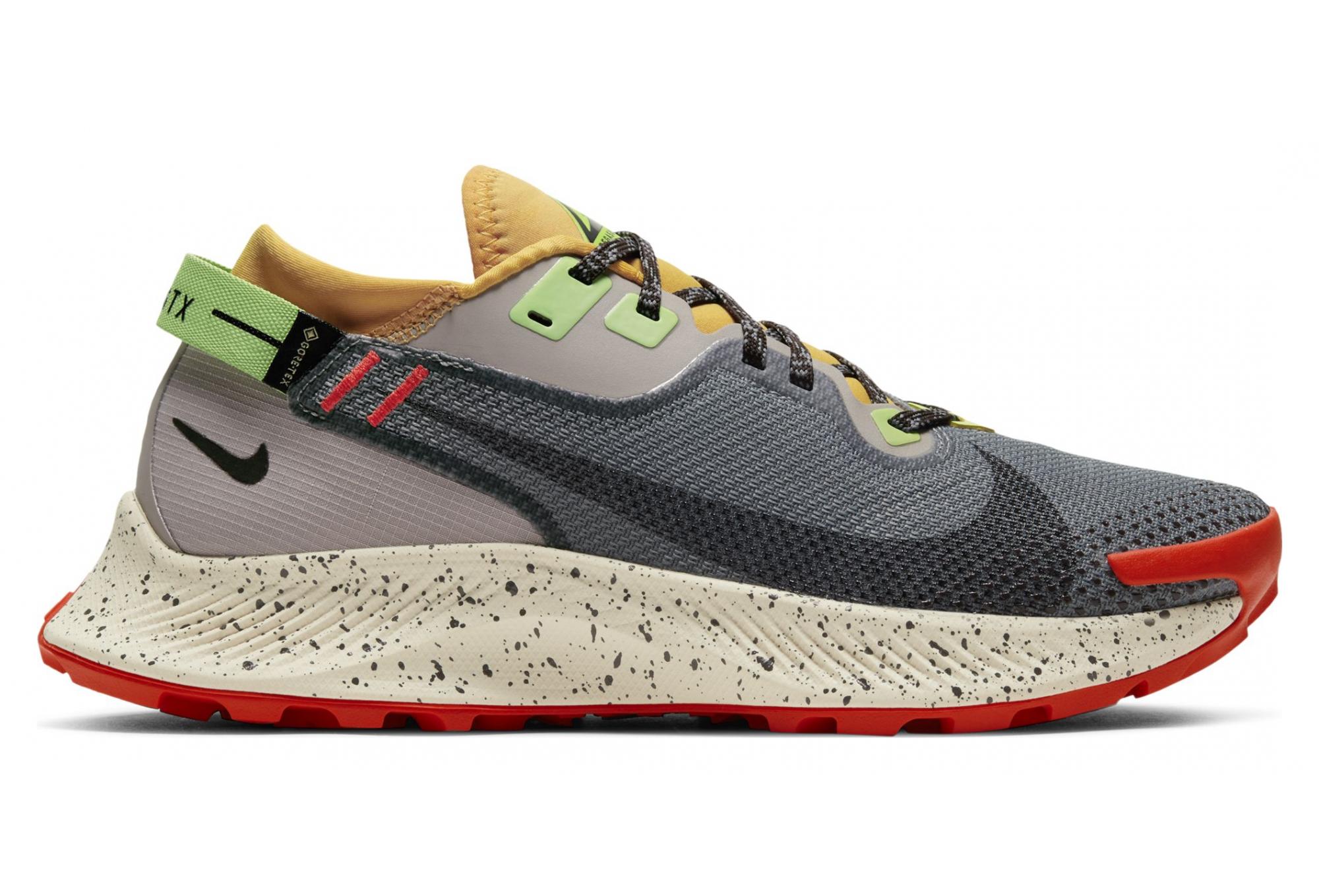 Nike Pegasus Trail 2 GTX Trail Shoes Gray Multi-color Women ...