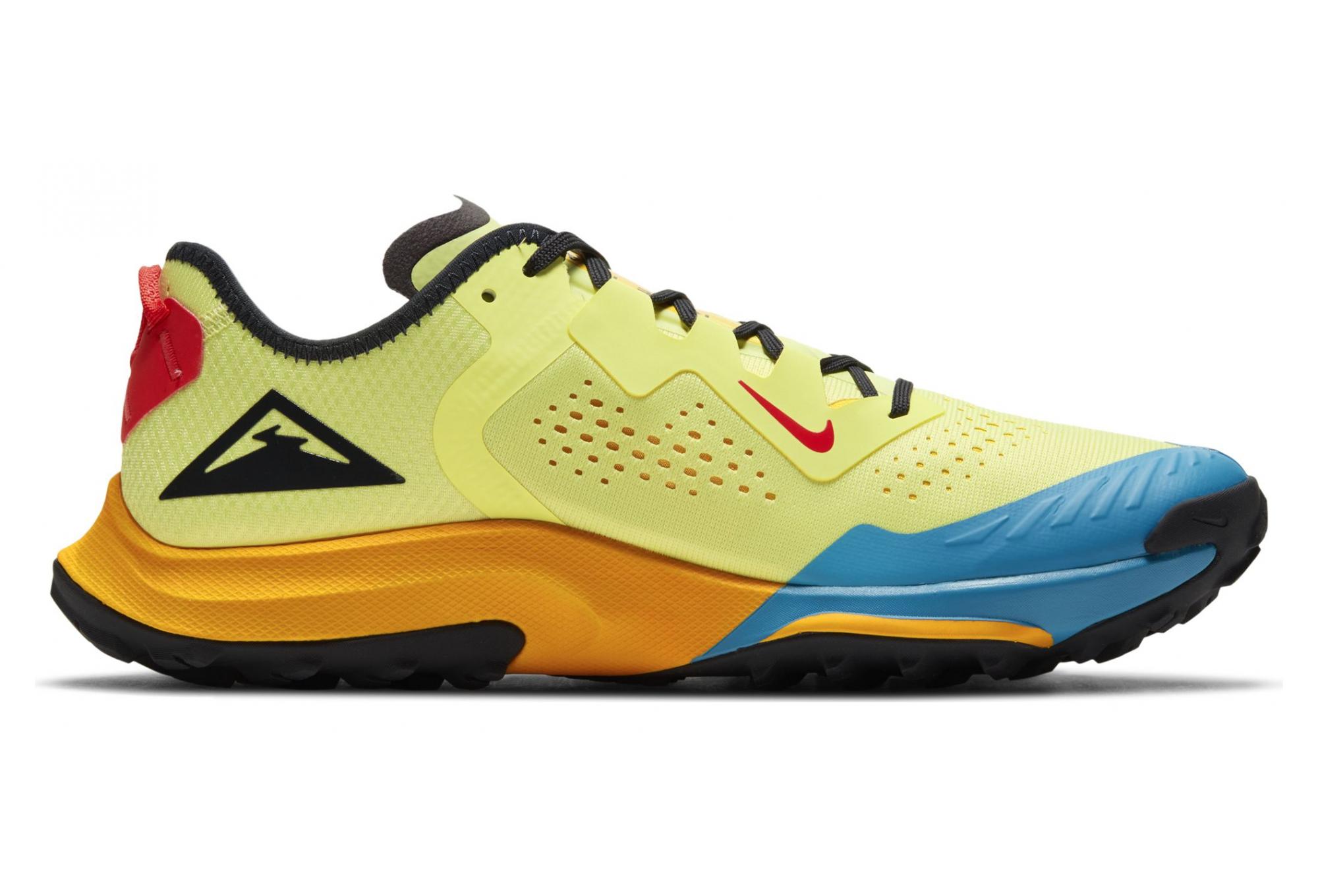 Nike Air Zoom Terra Kiger 7 Trail Shoes Yellow Blue Men