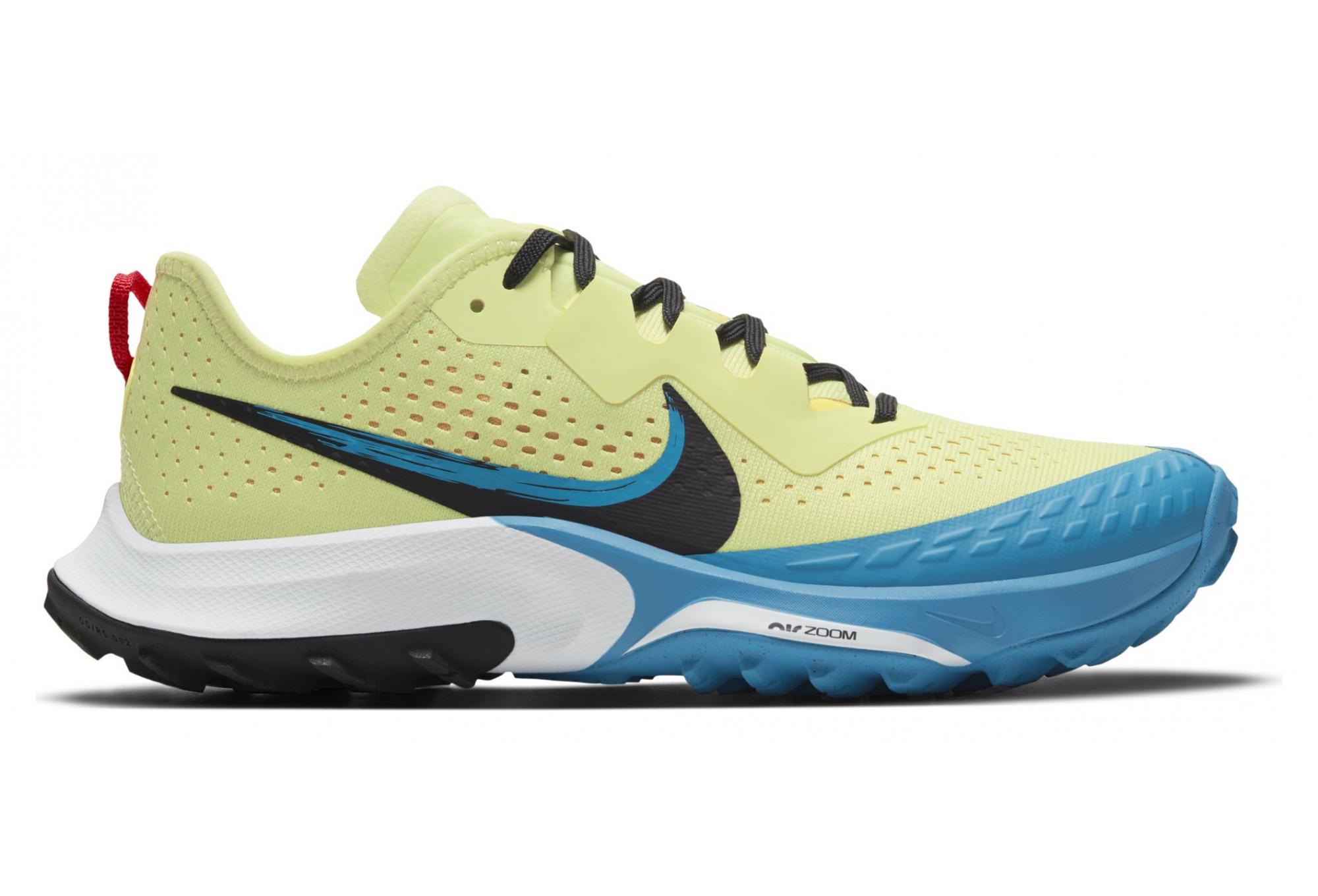 Chaussures de Trail Femme Nike Air Zoom Terra Kiger 7 Jaune / Bleu