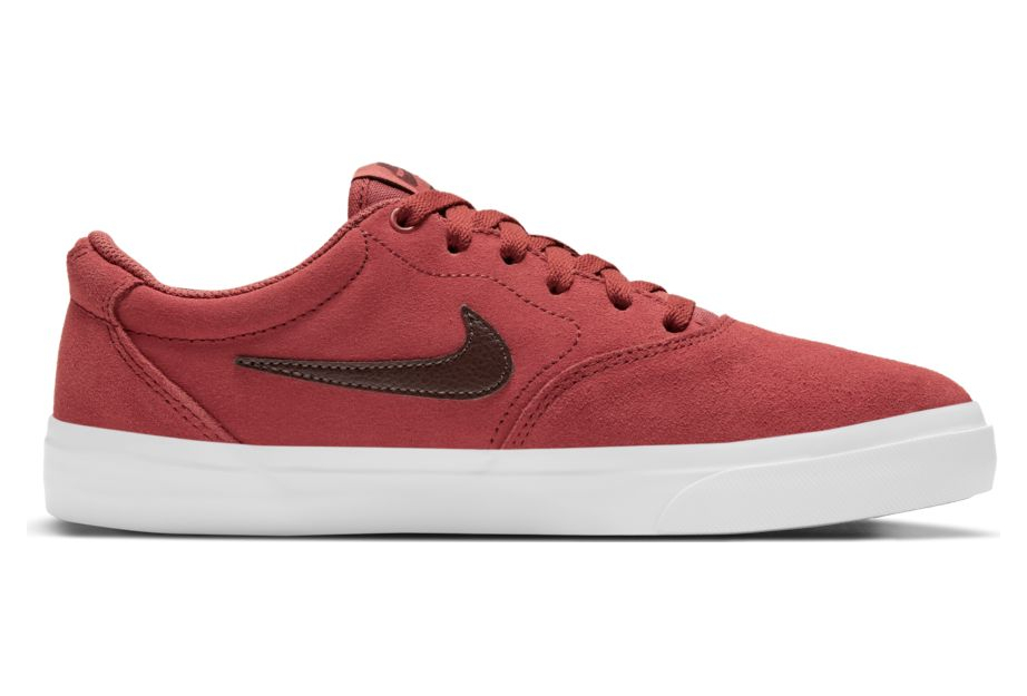 Nike SB Charge Suede Red Shoes