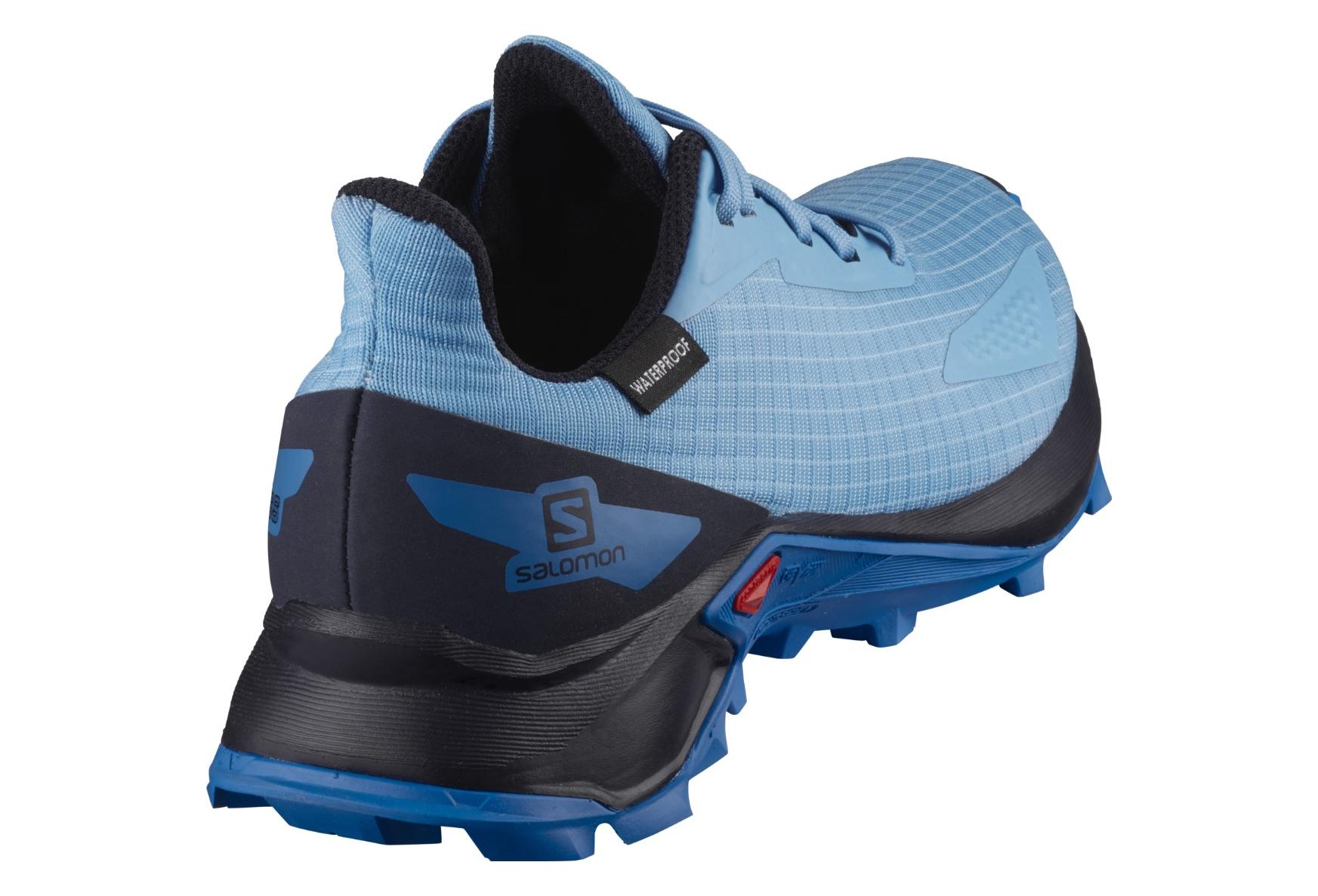 Salomon Unisex-Child Alphacross Blast CSWP J Trail Running Shoe