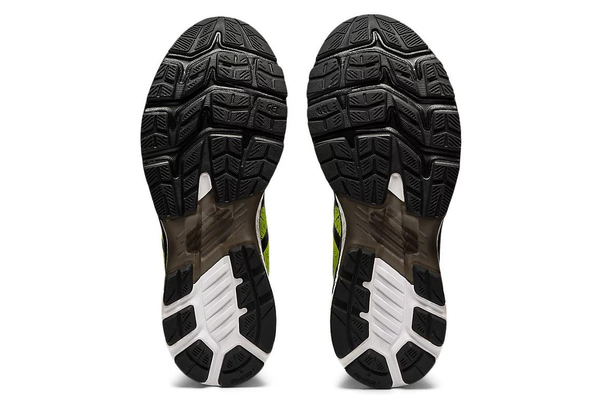 Asics Gel Kayano 27 Yellow Black Running Shoes