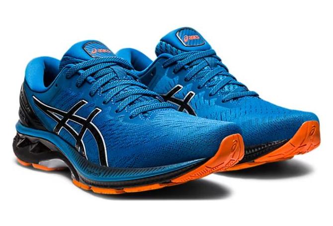 Asics Gel Kayano 27 Running Shoes Blue Black