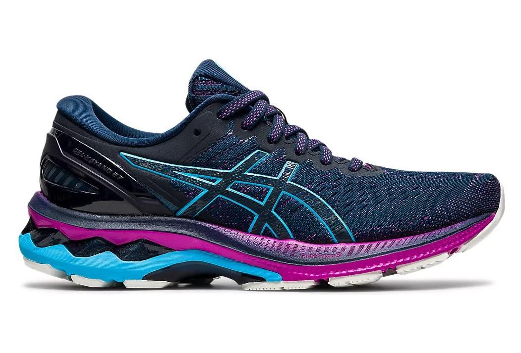 Chaussures de Running Femme Asics Gel Kayano 27 Bleu / Violet ...