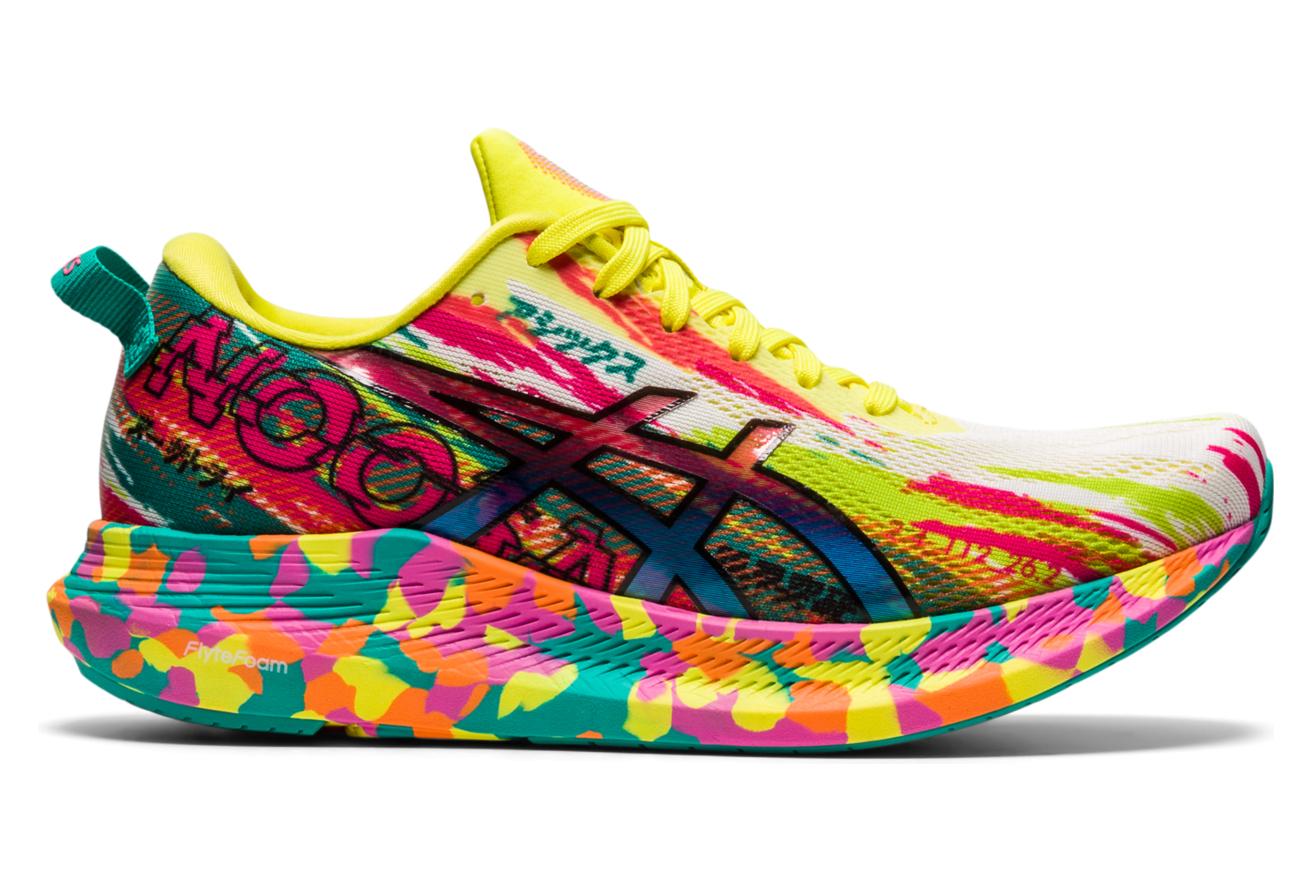 Chaussures de Running Femme Asics Gel Noosa Tri 13 Rose / Multi ...