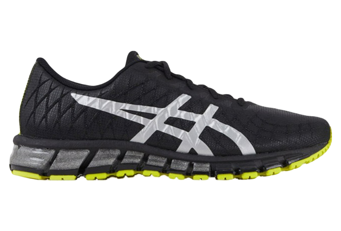 Asics Gel Quantum 180 4 Running Shoes Black Silver