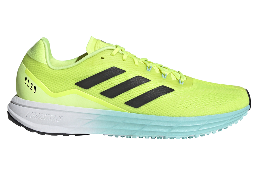 Adidas SL20 2 Running Shoes Yellow Mens