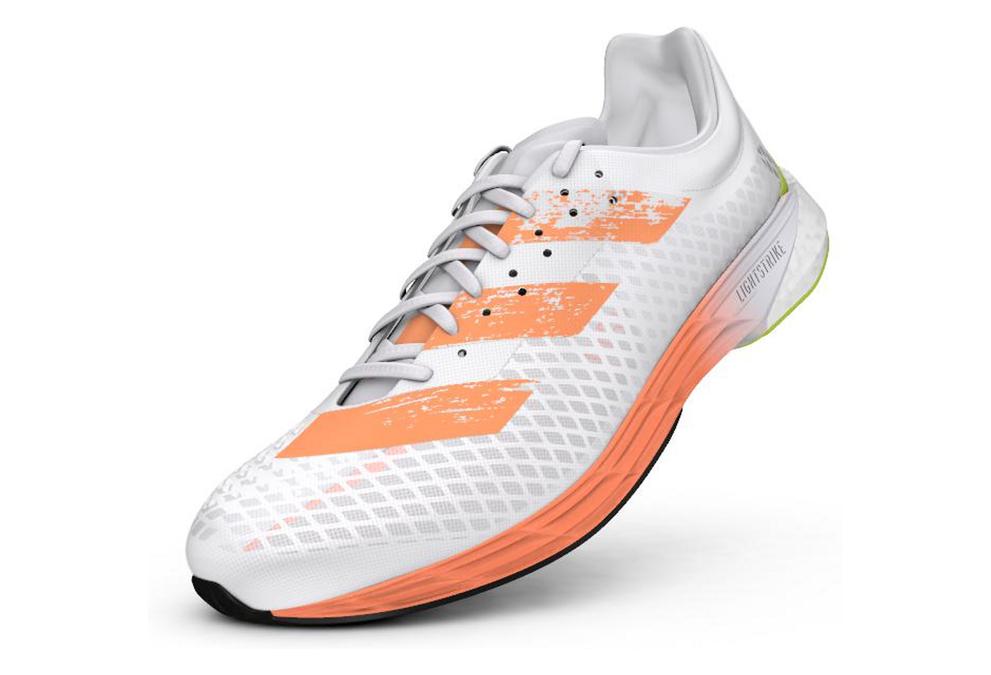 Adidas adizero Pro White Multi-color Mens Running Shoes