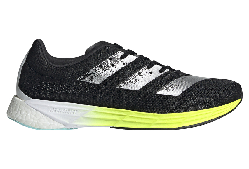 Adidas adizero Pro Running Shoes Black Yellow Mens