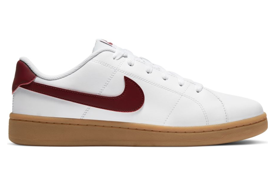 Chaussures Nike Court Royale 2 Low Blanc / Rouge   Alltricks.fr