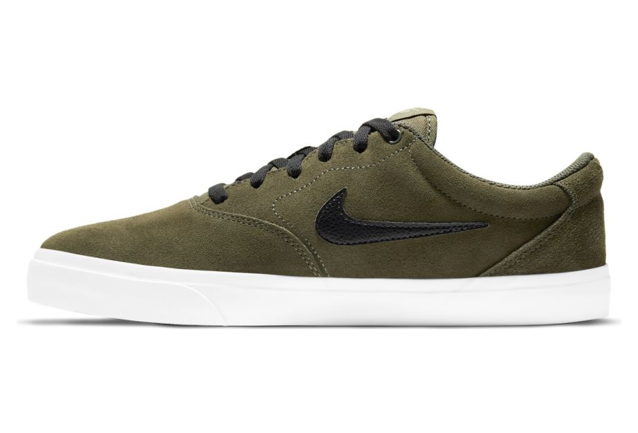 Nike SB Charge Suede Green Shoes | Alltricks.com