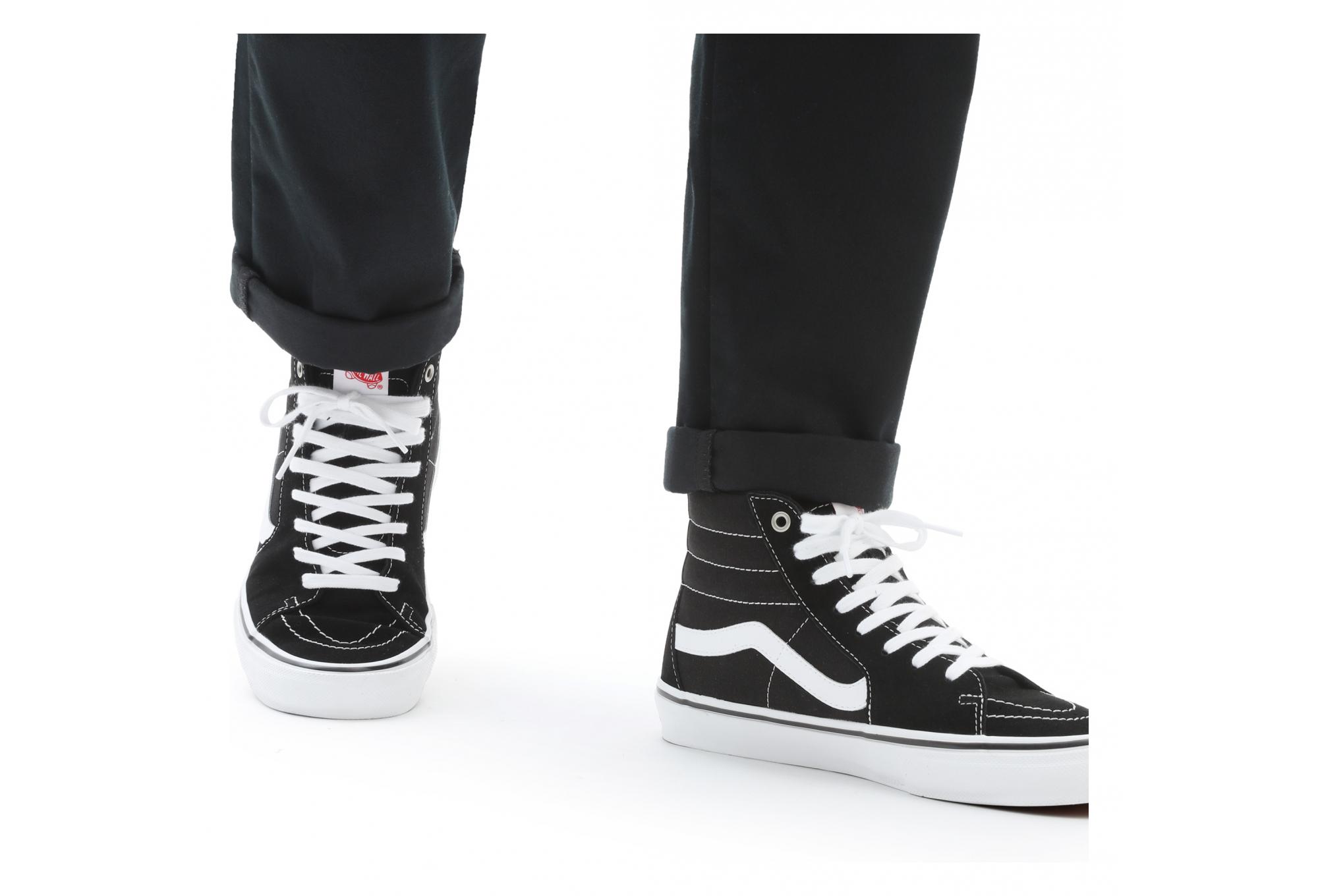Scarpe da skate Vans SK8-Hi Nere / Bianche