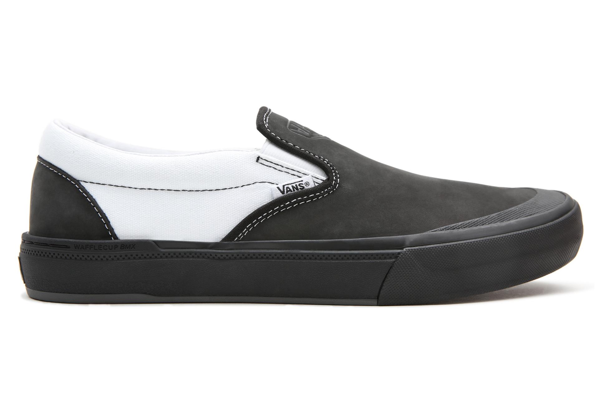Vans Slip-On (DAK) BMX Shoes Black / White | Alltricks.com