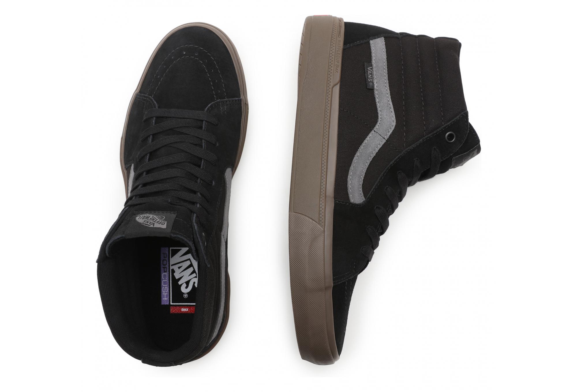 Vans SK8-Hi BMX Shoes Black / Dark Gum