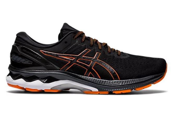 Chaussures de Running Asics Gel Kayano 27 Noir / Orange | Alltricks.fr