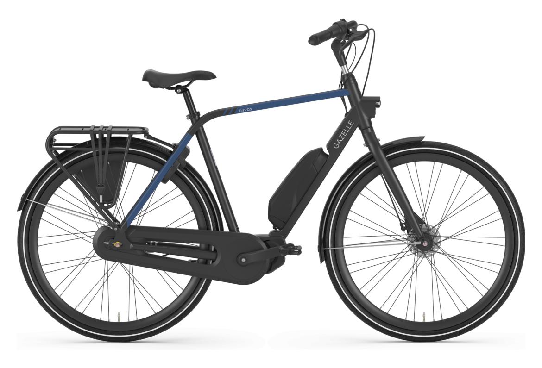 Gazelle Citygo C7 HMS H28 T7 Shimano Nexus 7S 418 Wh Electric City Bike Black / Blue 2021