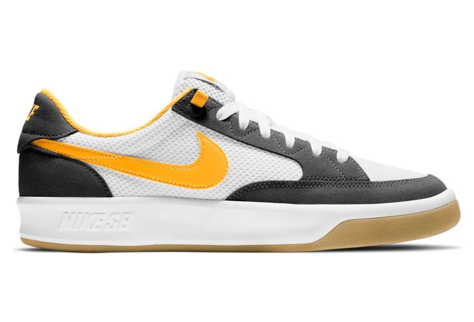 Nike SB Adversary Black / White / Yellow Skateboarding Shoe