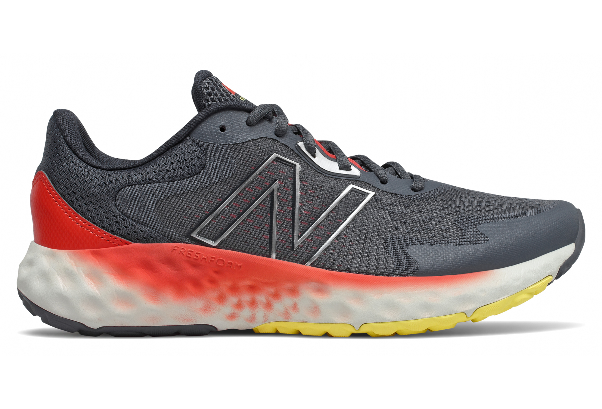 Scarpe da corsa da uomo New Balance Fresh Foam Evoz grigio arancione