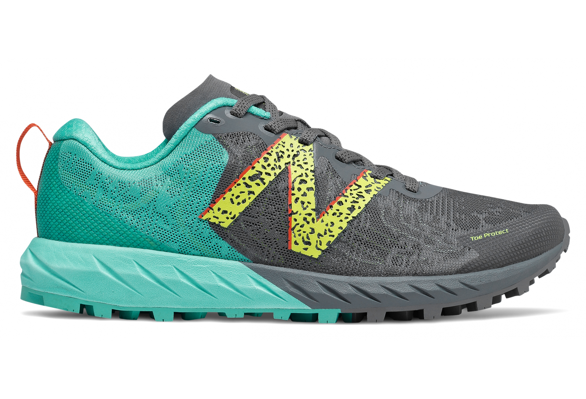 New Balance Summit Unknown V2 Trail Shoes Gray Green Woman