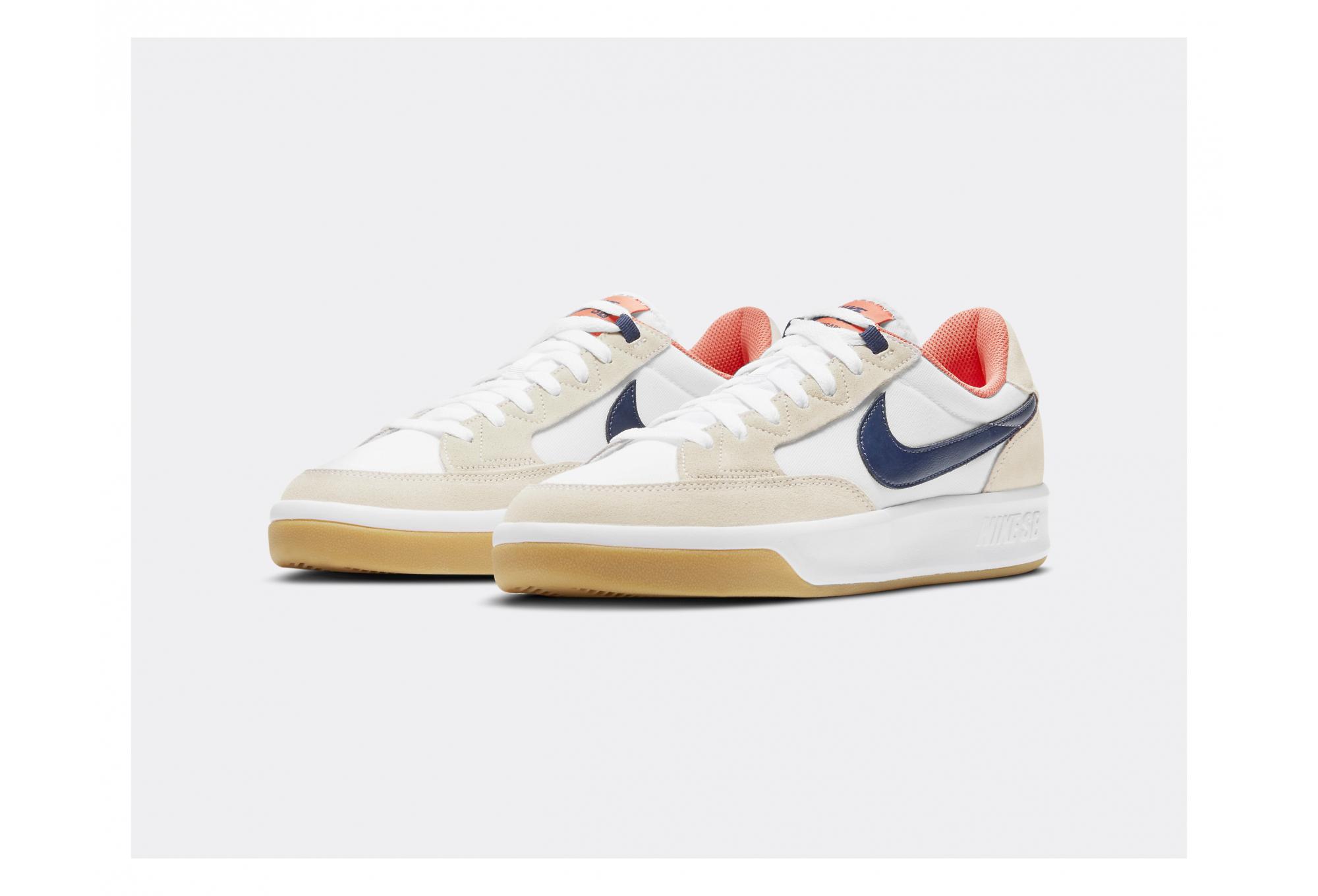 Nike SB Adversary Premium Beige / Blue Shoes | Alltricks.com