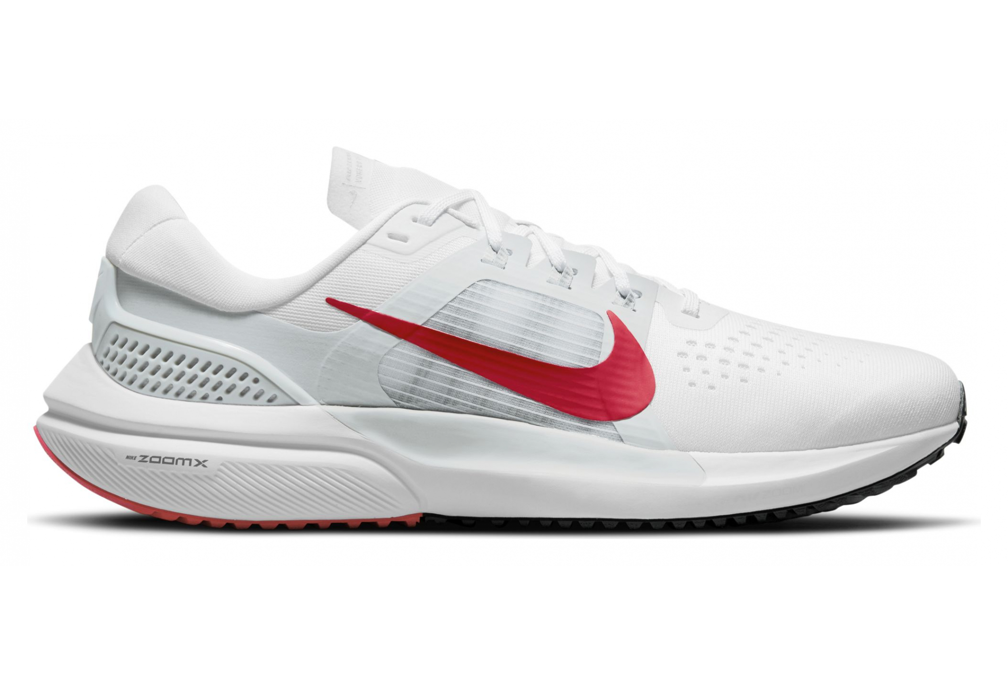 Nike Air Zoom Vomero 15 White / Red Pair of Shoes