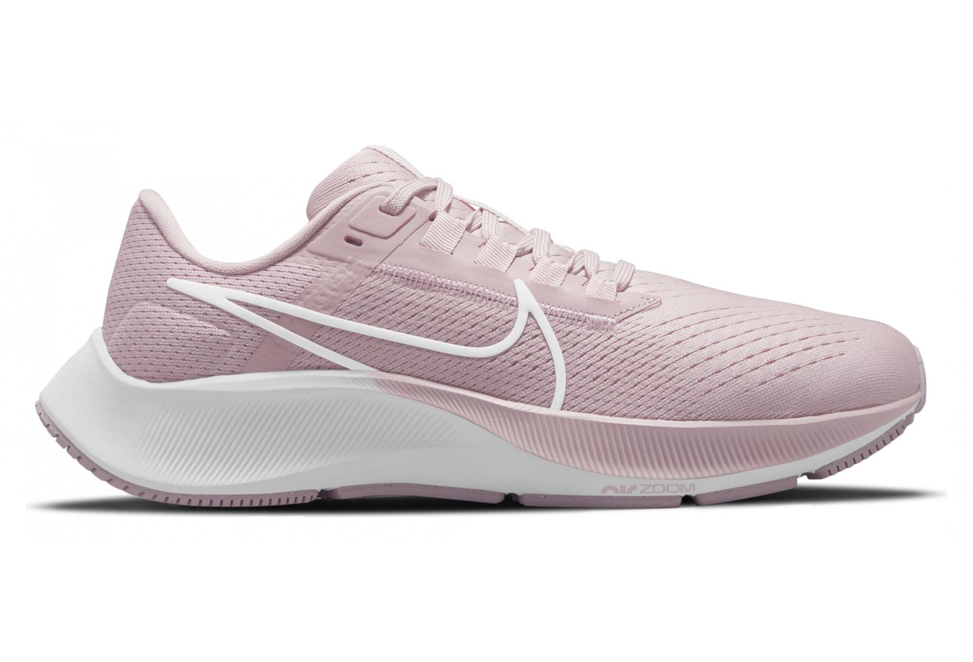 Chaussures de Running Femme Nike Air Zoom Pegasus 38 Rose / Blanc ...