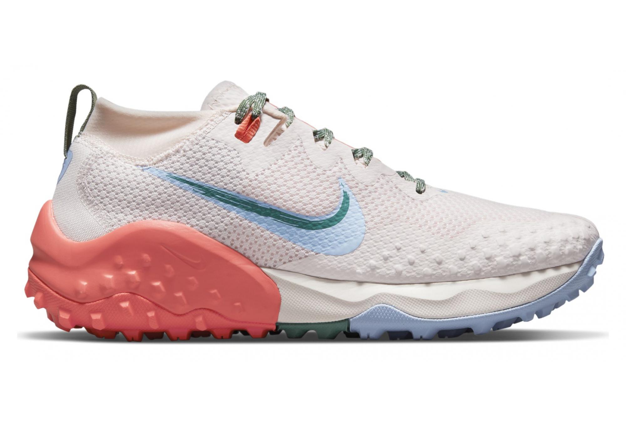Chaussures de Trail Femme Nike Wildhorse 7 Rose / Bleu | Alltricks.fr