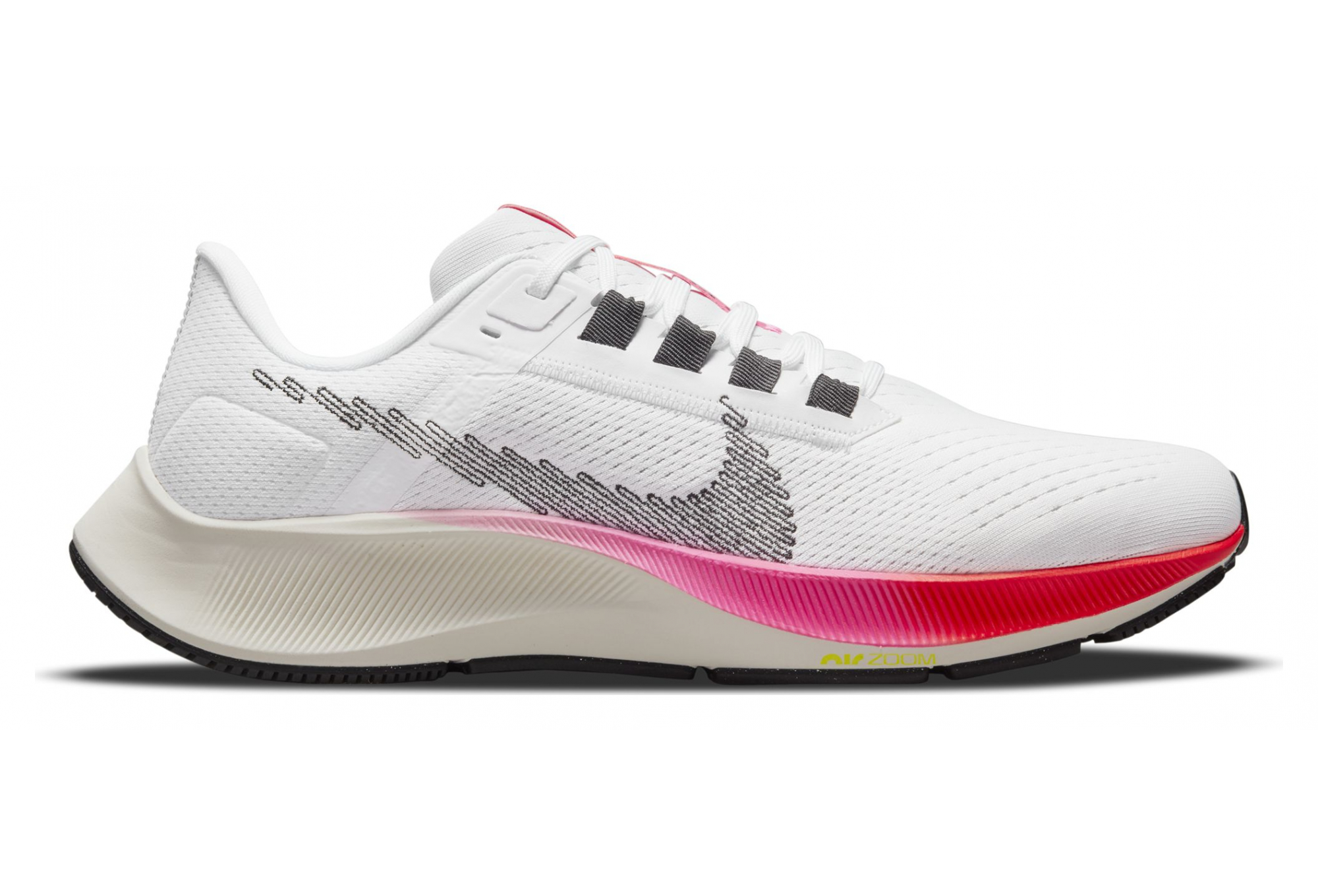Chaussures de Running Nike Air Zoom Pegasus 38 Rawdacious Blanc / Rose