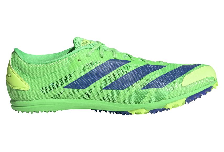 Adidas adizero XCS Running Shoes Green / Blue Unisex   Alltricks.com