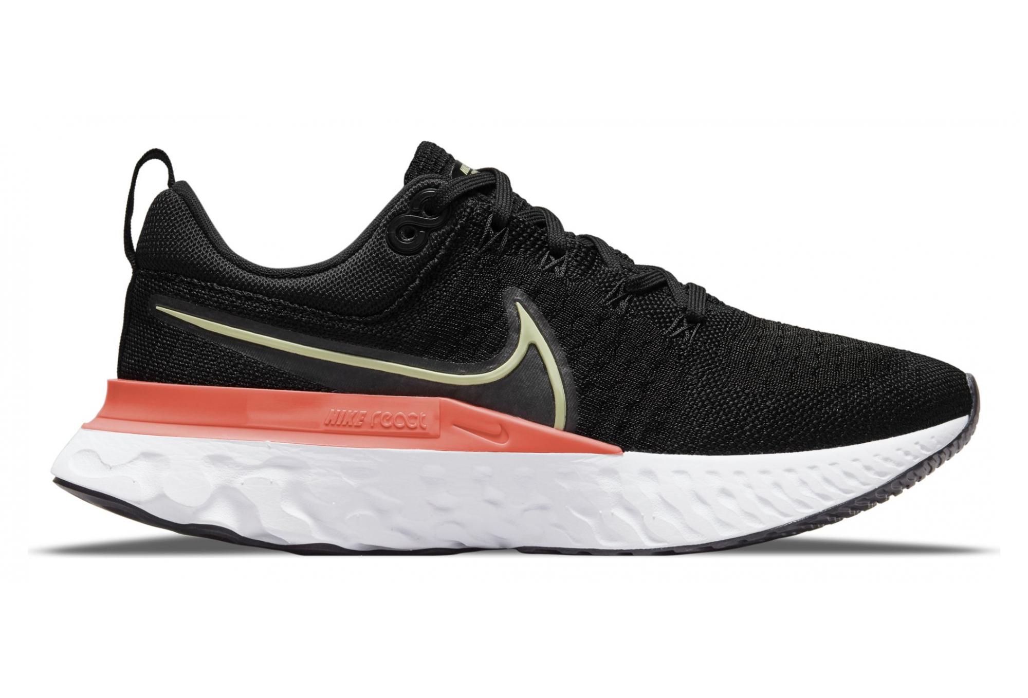 Chaussures de Running Femme Nike React Infinity Run Flyknit 2 Noir / Rose