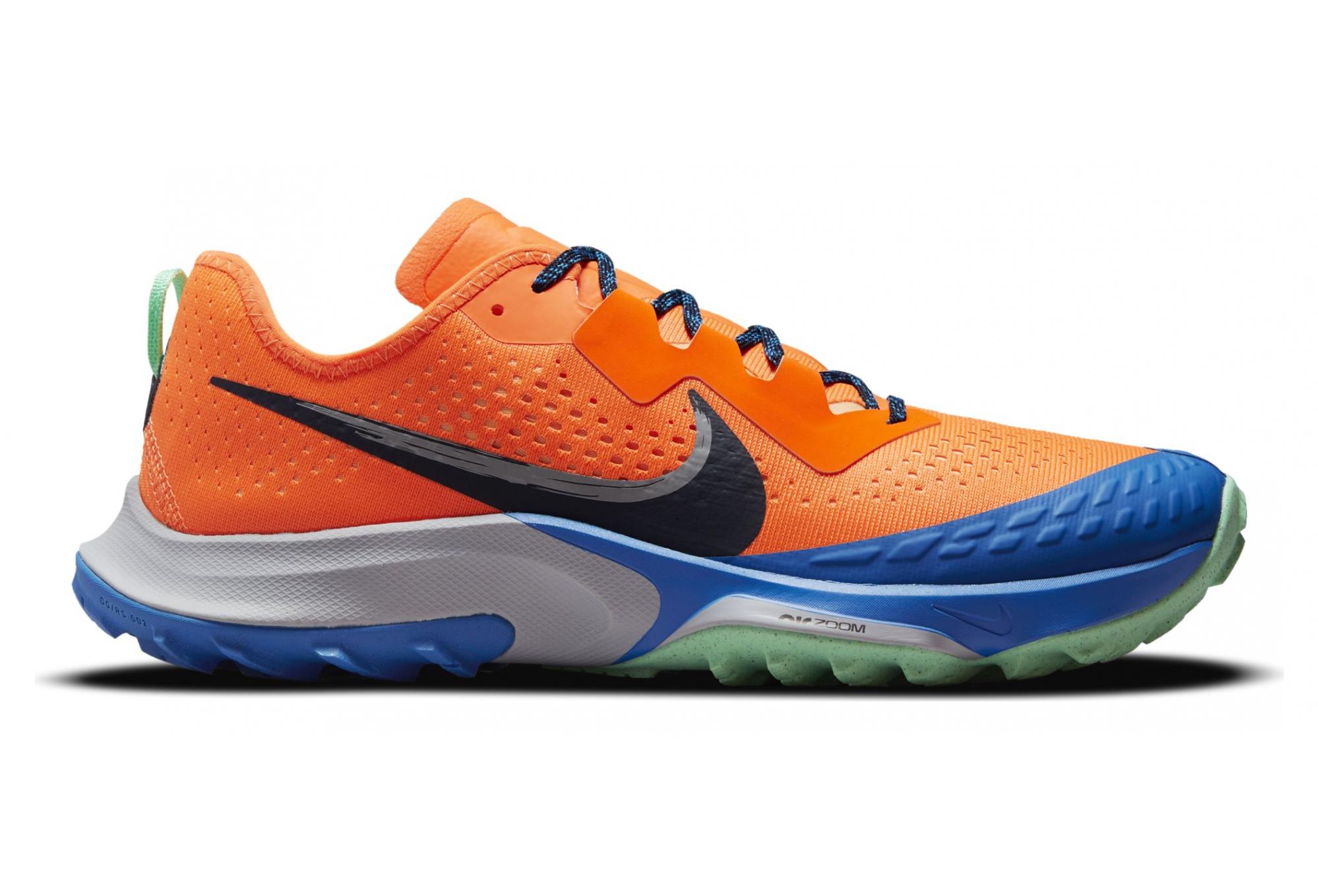 Nike Air Zoom Terra Kiger 7 Trail Running Shoes Orange/Blue