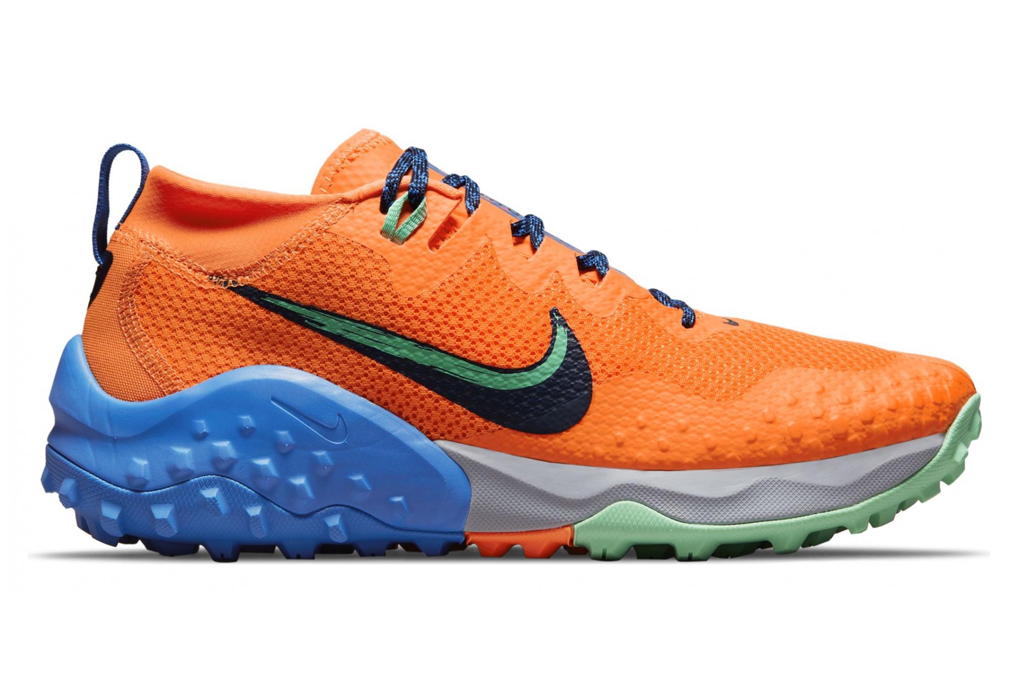 Nike Wildhorse 7 Trail Running Shoes Orange/Blue