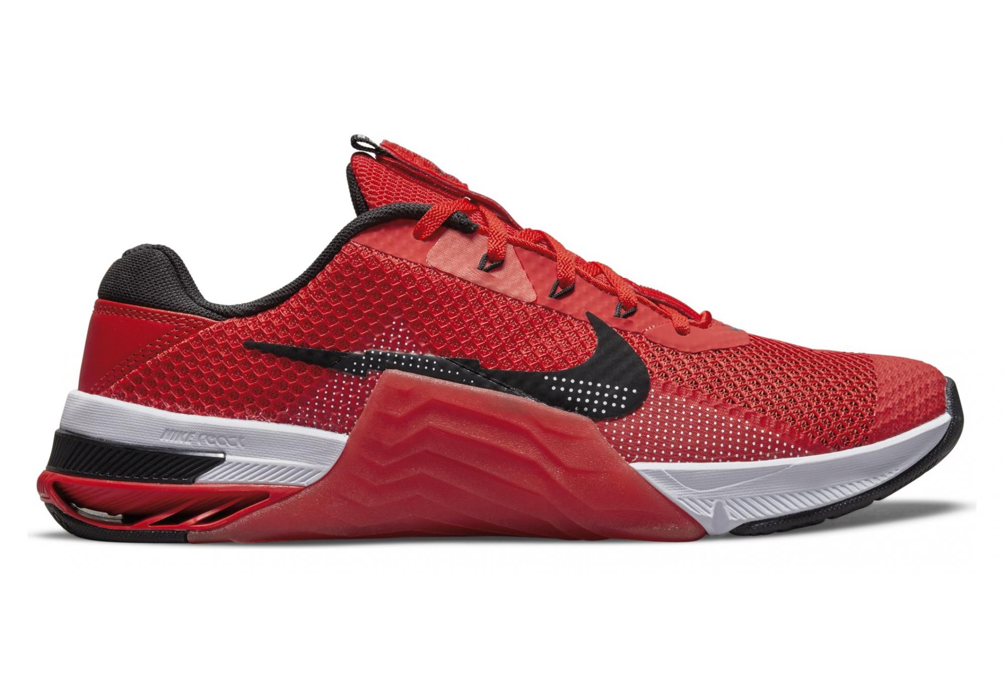 Nike Metcon 7 Running Shoes Red Black