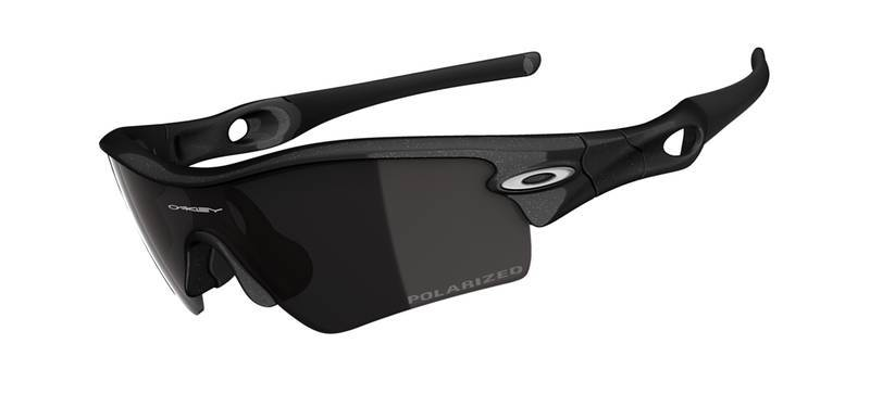 91c0a1e26b OAKLEY Sunglasses Radar Path Metallic Black   OO Black Iridium Polarized  26-215 Ref