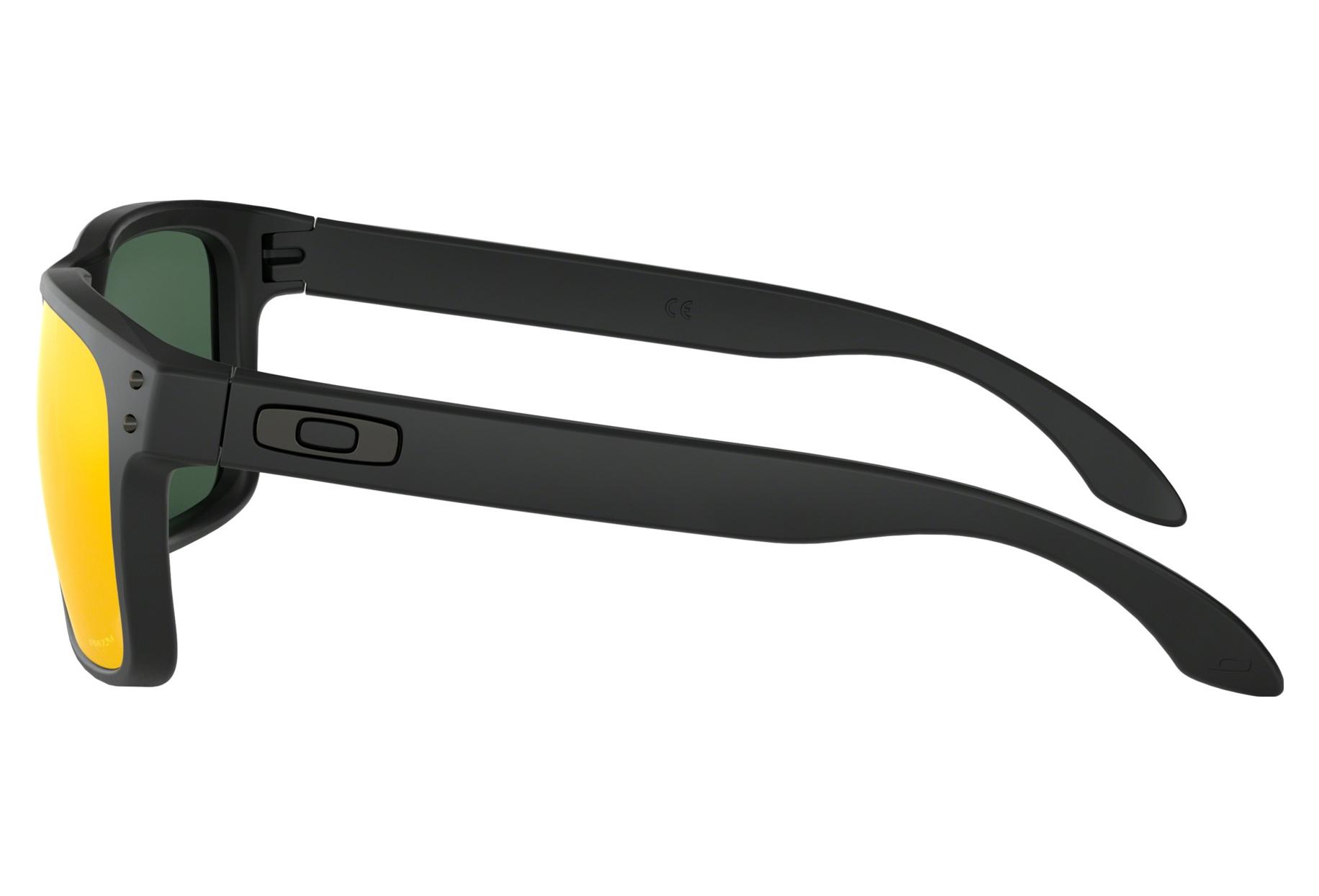 Matte Black E2 Holbrook Ruby RefOo9102 De Oakley Lunettes Paire Prizm vnmwN08O