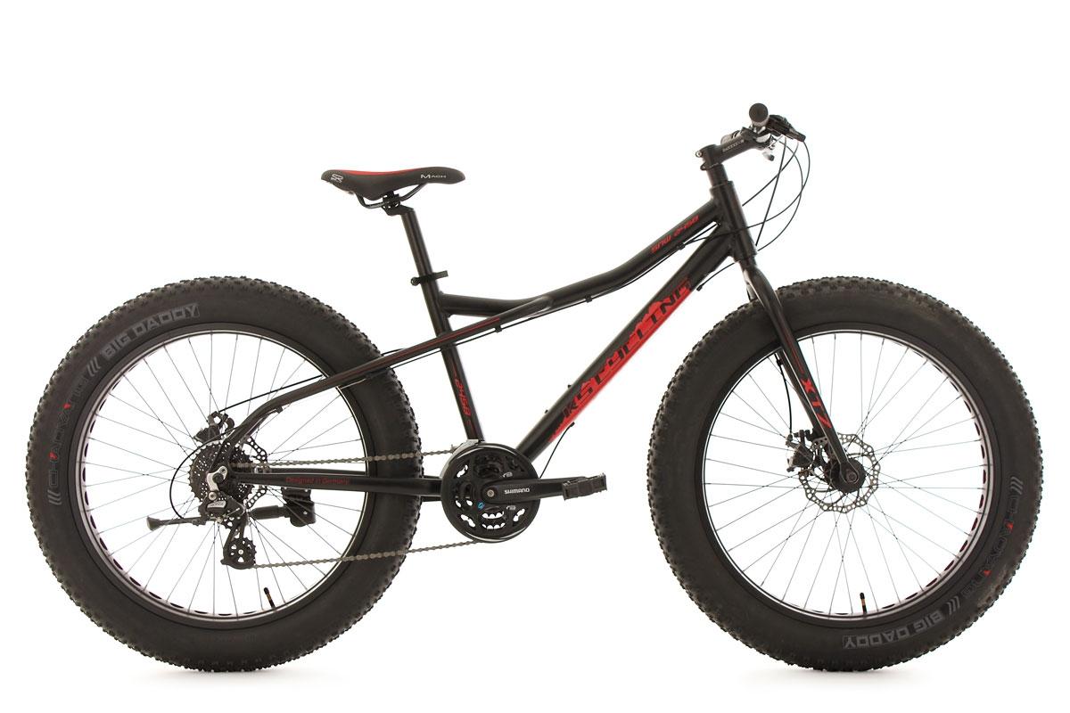 VTT Fatbike 26\'\' SNW2458 noir TC 46 cm KS Cycling   Alltricks.de