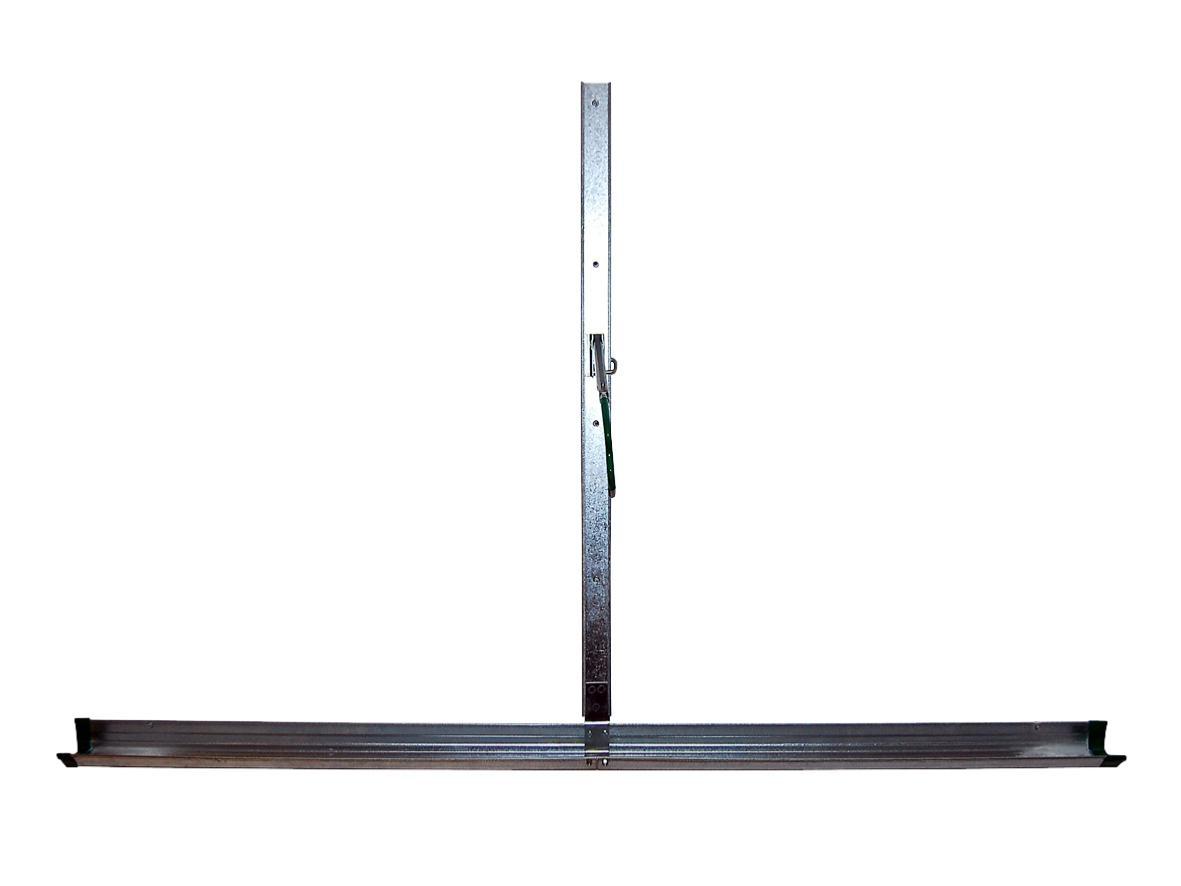 porte v lo mural sur rail en acier. Black Bedroom Furniture Sets. Home Design Ideas