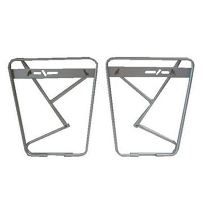 Porte bagages avant sur fourche de v lo - Porte bagage avant fourche suspendue ...