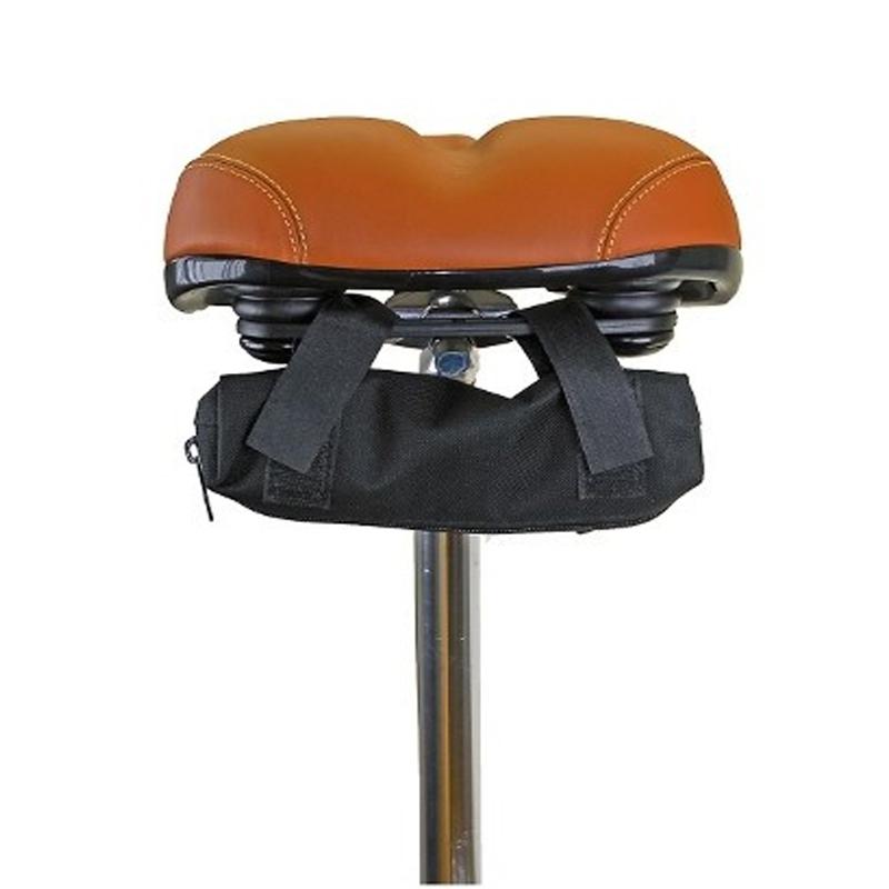 couvre selle v lo protection pluie avec sacoche sur rail. Black Bedroom Furniture Sets. Home Design Ideas